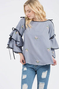 Top with Strap Shoulder