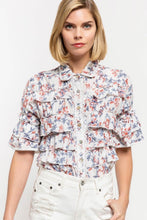 Load image into Gallery viewer, Floral Print Woven Top
