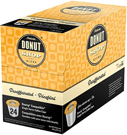 DONUT SHOP DECAF COFFEE K-POD - 24CT