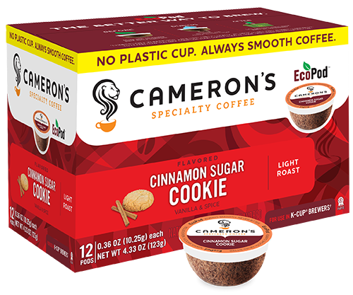 CINNAMON SUGAR COOKIE COFFEE K-POD - 12CT