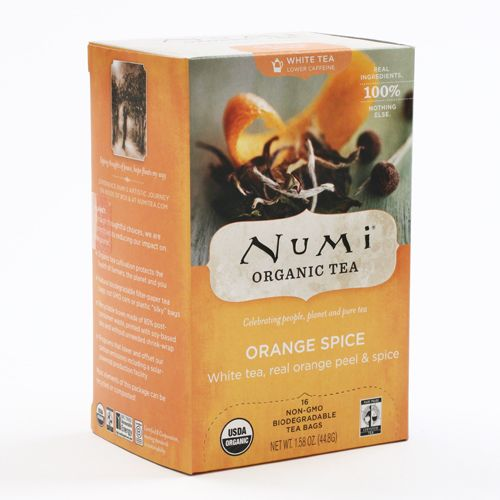 ORANGE SPICE TEA BAG - 18CT