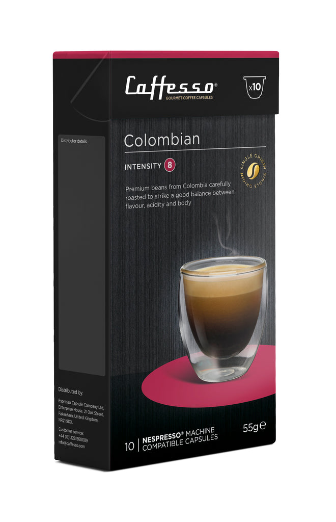COLOMBIAN ORIGINAL LINE COFFEE NES-POD - 10CT