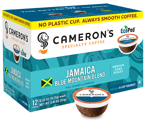 JAMAICA BLUE MOUNTAIN BLEND COFFEE K-POD - 12CT