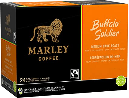 BUFFALO SOLDIER COFFEE K-POD - 24CT