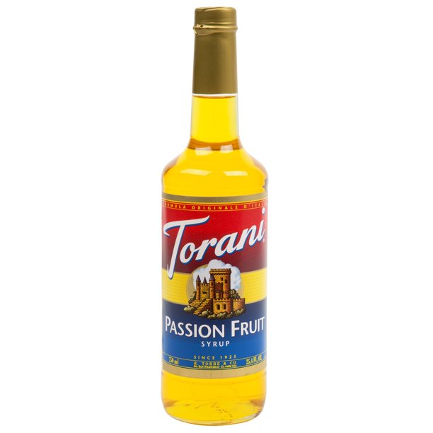 PASSION FRUIT SYRUP - 750ML