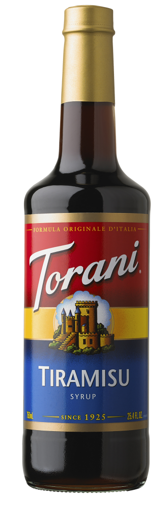 TIRAMISU SYRUP - 750ML