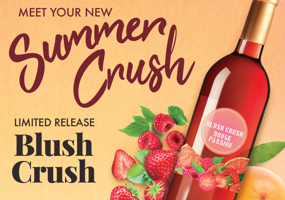 Limited Release Orchard Breezin' Blush Crush