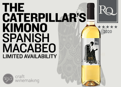 RQ20 The Caterpillar's Kimono - Spanish Macabeo Wine Kit Limited Release