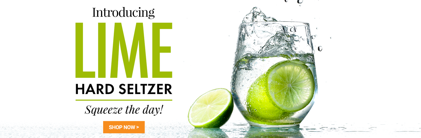 Introducing Lime Hard Seltzer