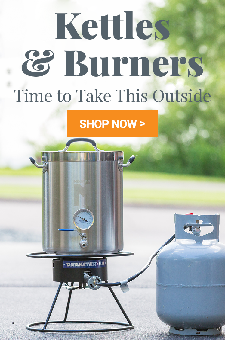 Kettles & Burners: Time to Take This Outside