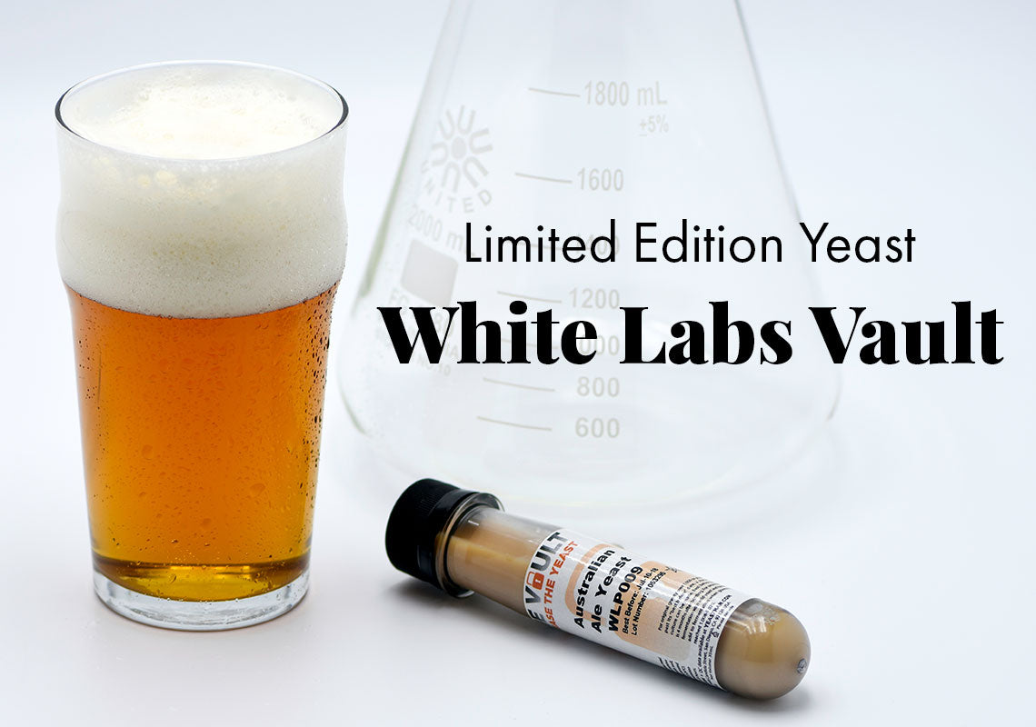 Limited Edition Yeast from White Labs Vault