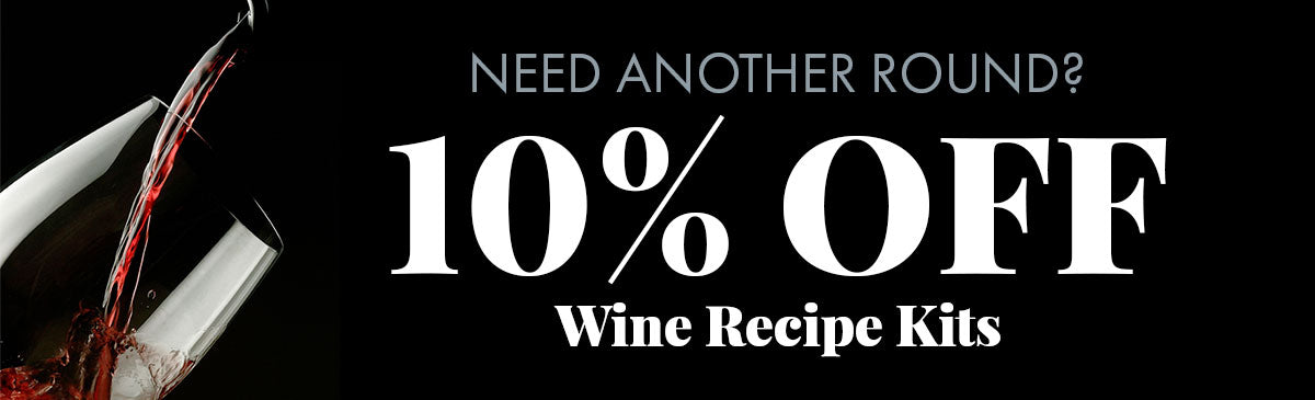 Save on Your Next Wine (or Beer) Recipe KIt