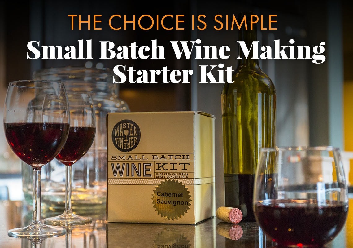 Small Batch Wine Making Starter Kit