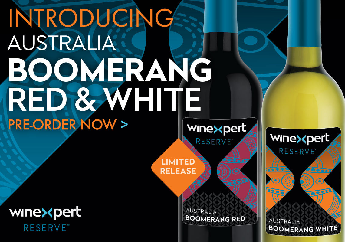 Introducing Australia Boomerang Red & White Wine Blends. Pre-Order Today!