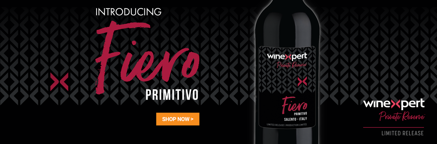 Fiero - Primitivo Style Wine Kit - Winexpert Private Reserve Limited Edition