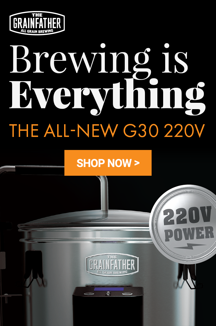 Grainfather G30 Updated Power for a Faster Brewday