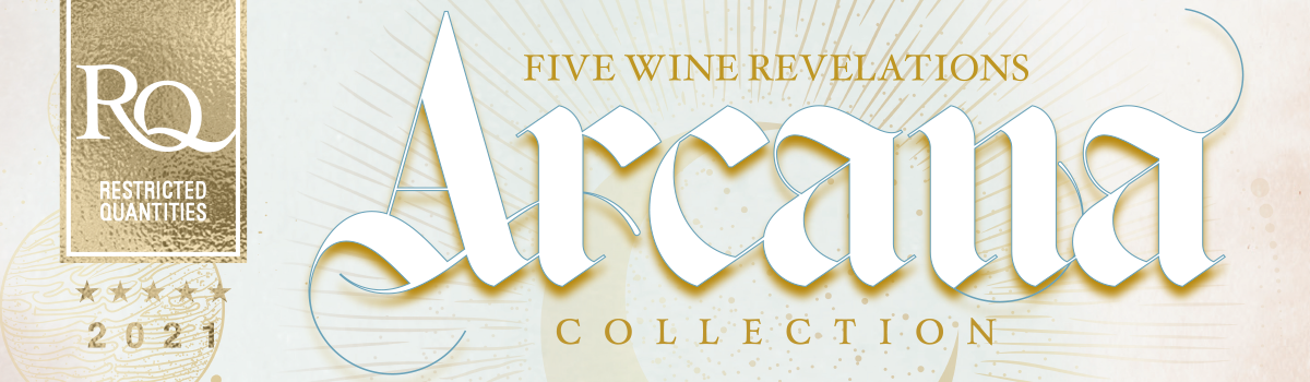 Midwest Supplies is proud to bring you the greatest fortunes in wine with RJS RQ 2021 Arcana Collection!