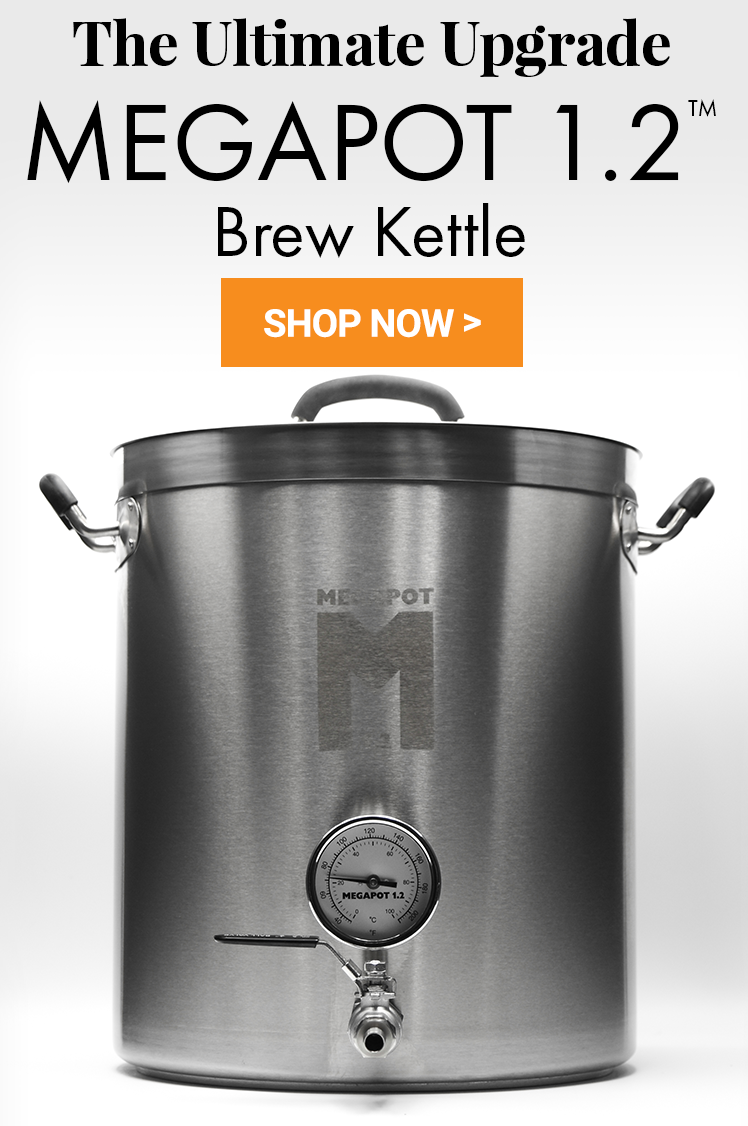 MegaPot 1.2 Brew Kettles - The Ultimate Upgrade