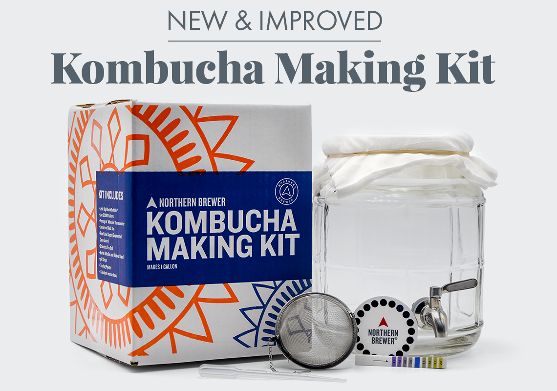 New & Improved Kombucha Making Kit