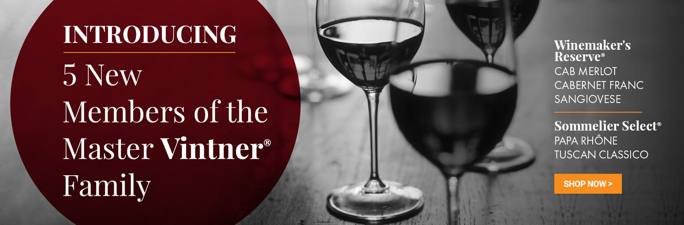 Introducing 5 New Members of the Master Vintner Wine Family