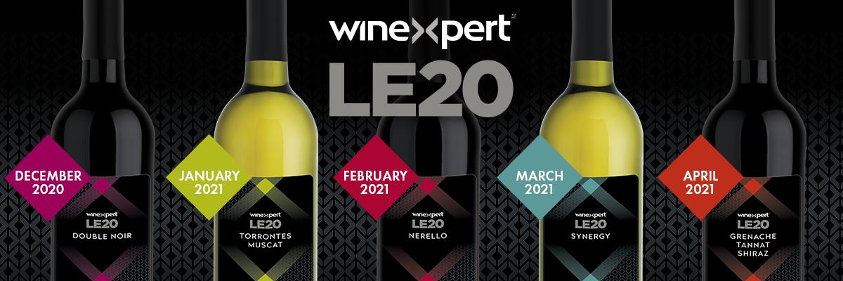Winexpert LE20 Limited Release Wines Available for Pre-Order