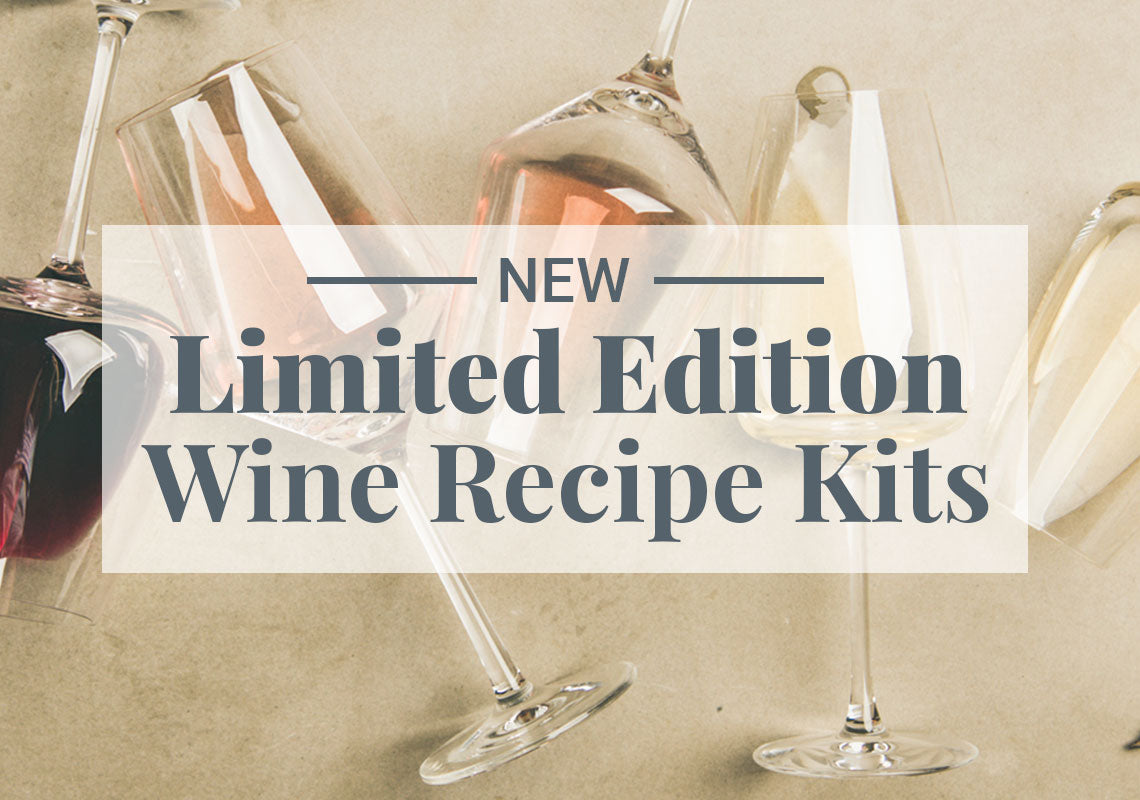 Limited Edition Wine Recipe Kits