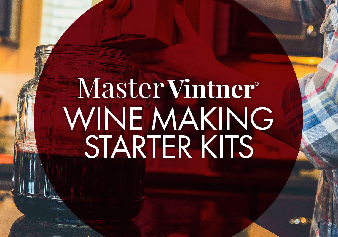 Master Vintner Wine Making Starter Kits