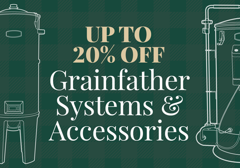 Up to 20% Off Grainfather Systems & Accessories