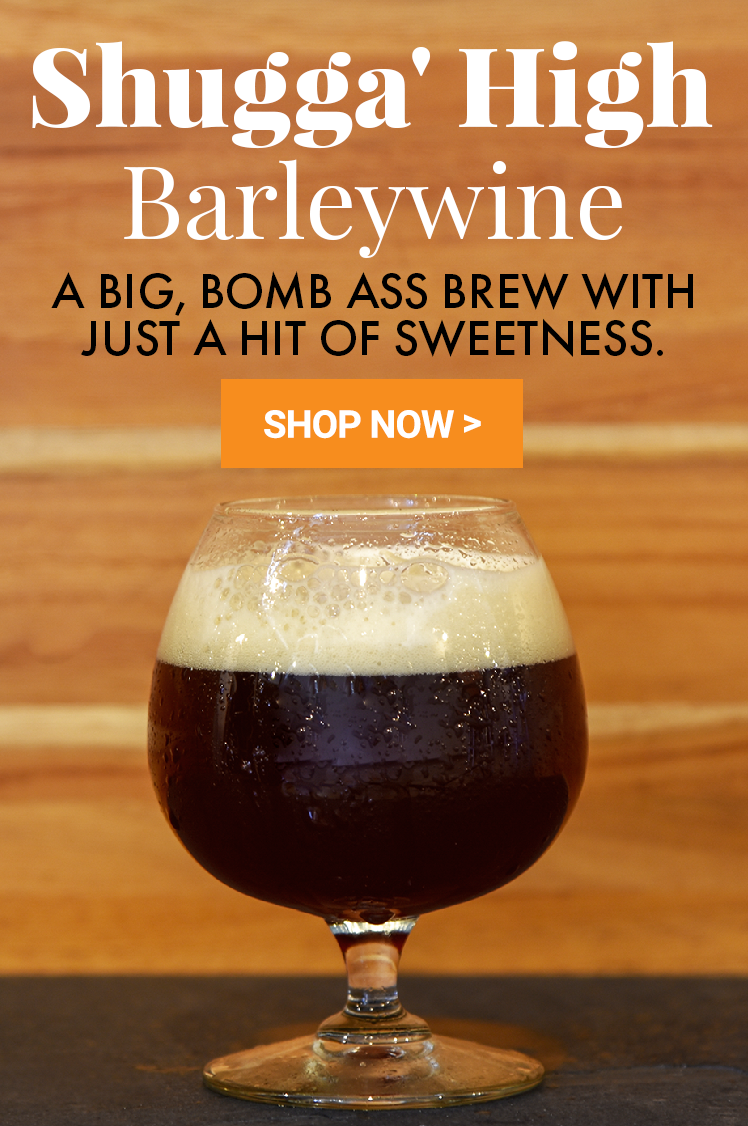 Introducing Shugga' High Barleywine