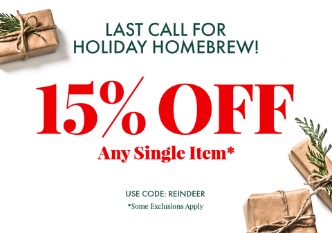 Save 15% Off Any Single. Promo Code: REINDEER