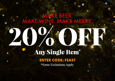 20% Off Any Single Item. Promo Code: FEAST