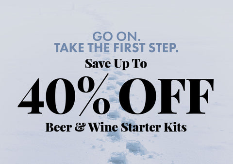 Up to 40% Off Select Starter Kits