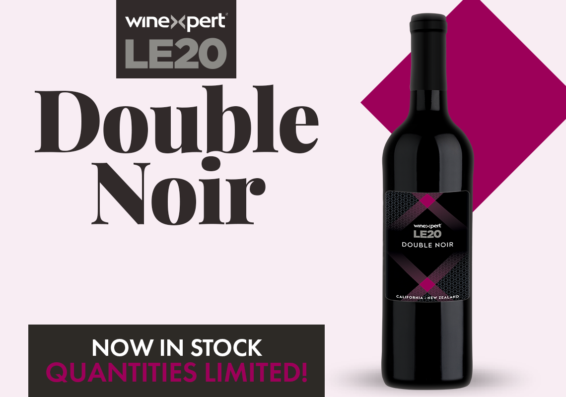 LE20 Double Noir Now In Stock - Quantities Limited