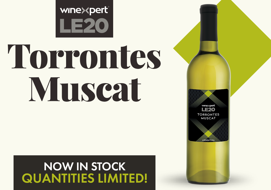 Torrontes Muscat NOW AVAILABLE