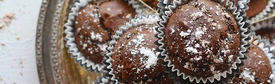 Chocolate and Red Wine Cupcakes