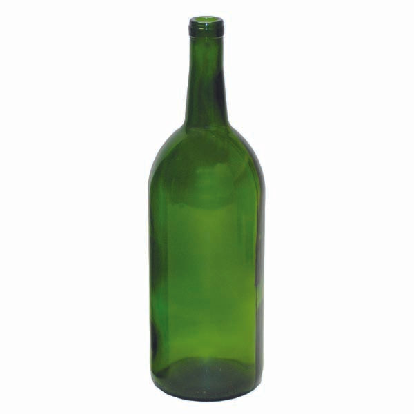 1.5 L Green Claret/Bordeaux Wine Bottles, 6 per case