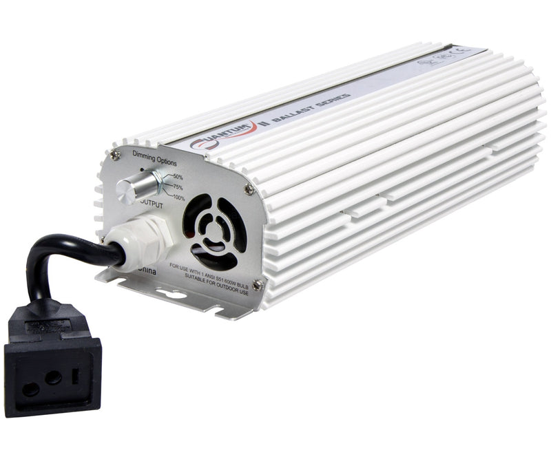 The 120/240V Dimmable Quantum 600W Digital Ballast