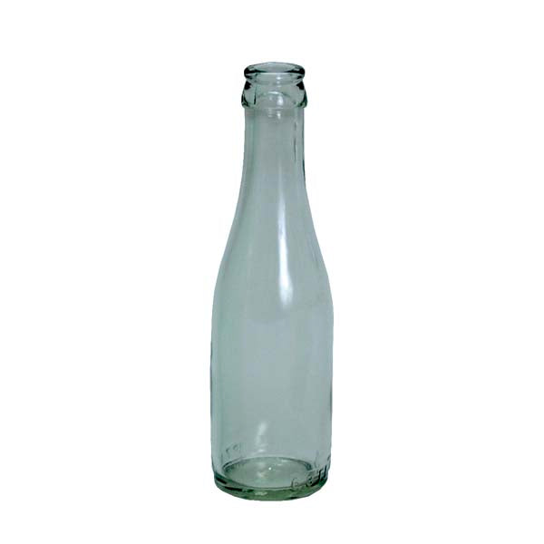 187 ml Clear Champagne Bottles, 24 per case