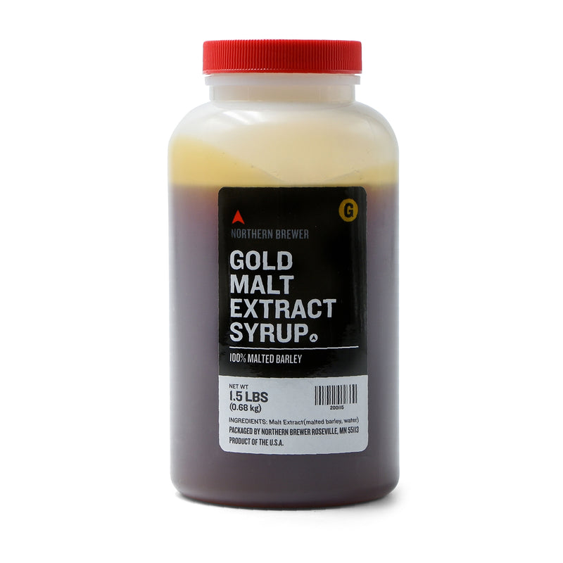 Gold Malt Extract Syrup 1.5 lbs