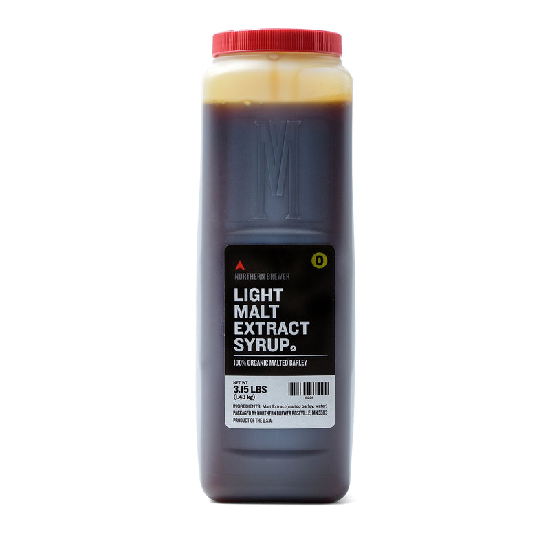Light Malt Extract Syrupin a 3.15-pound container