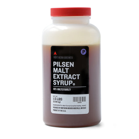 Pilsen Malt Extract Syrup in a 1.5-pound container