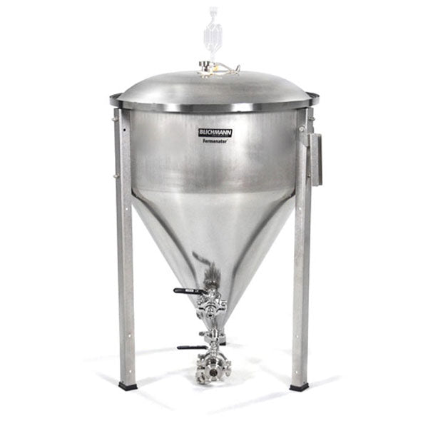 27 Gal Fermenator w/ Tri-Clamp Sanitary Fittings