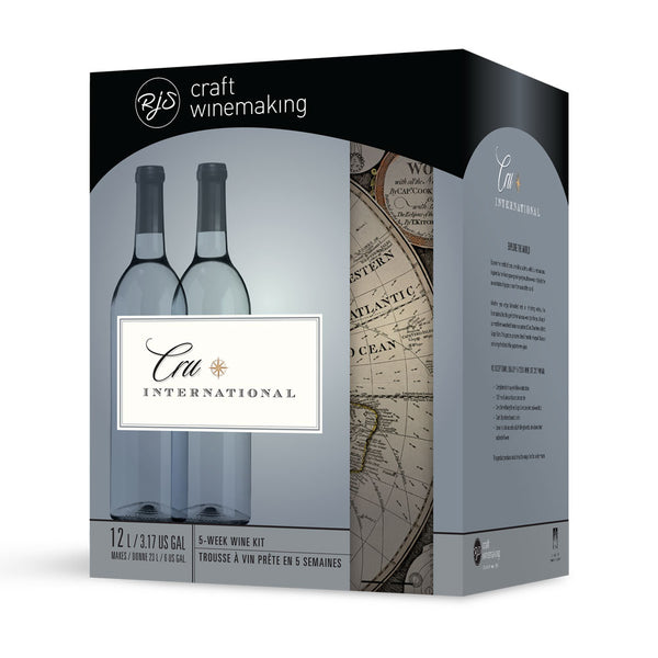 California White Zinfandel Wine Kit box by RJS Cru International