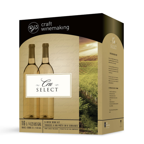 German Riesling Traminer Wine Kit - RJS Cru Select