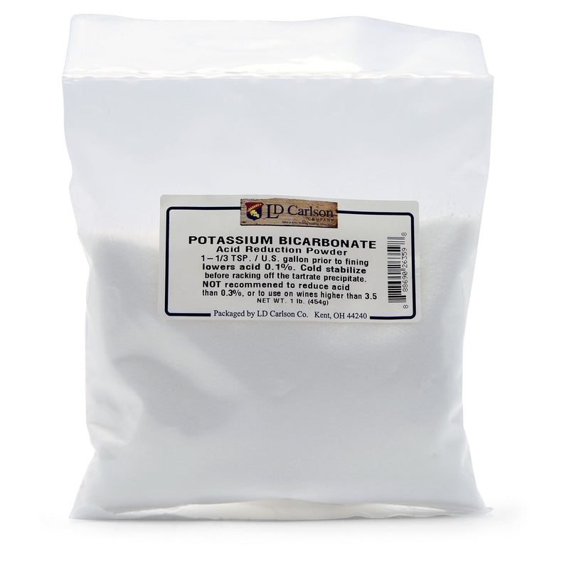 Potassium Bicarbonate Acid Reducer in its bag