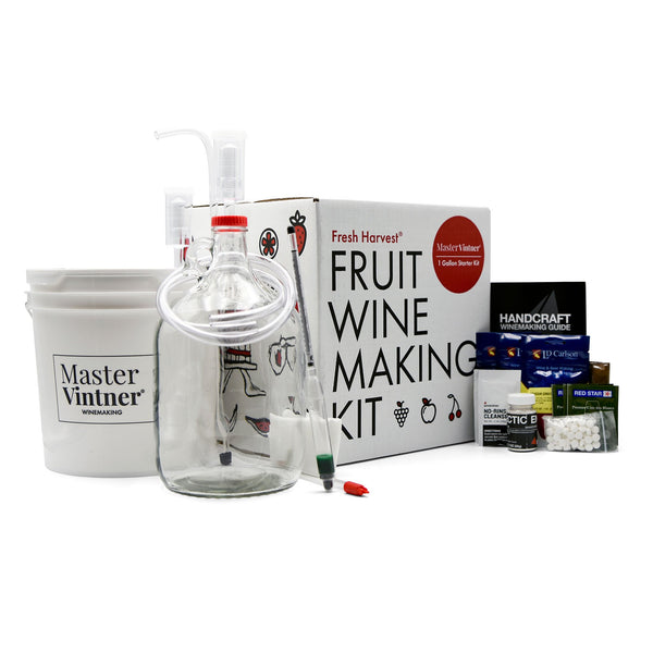 Master Vintner® Fresh Harvest® 1 Gallon Fruit Winemaking Kit
