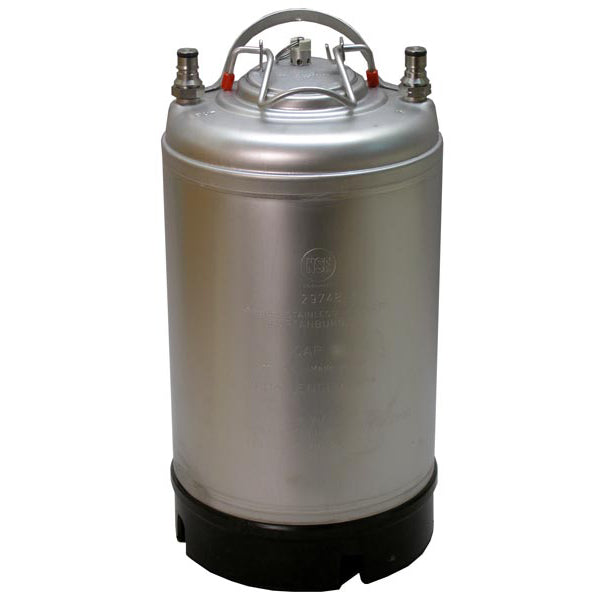 New 2.5 Gallon Ball Lock Keg