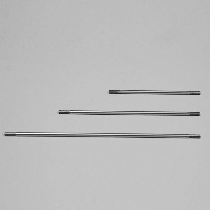 Different lengths of rod for the autosparge