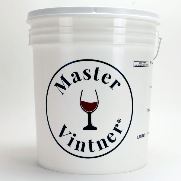 7.9-gallon Plastic Wine Fermenter bucket with Lid