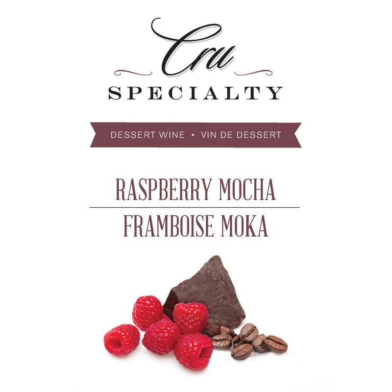 Raspberry Mocha Label